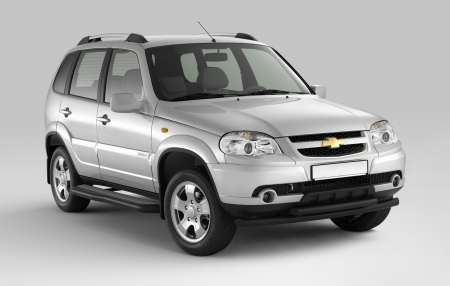 Защита порогов с алюм.фигурной накладкой d63мм Chevrolet Niva FL (ППК)